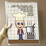 Papiernictvo - Vtipný receptár s vlastnou karikatúrou - 10962540_