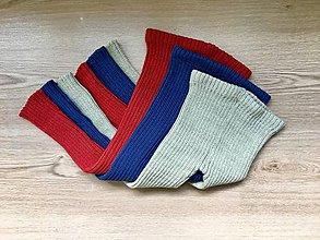 Detské oblečenie - Detské pletené kamaše-akryl - 10964397_
