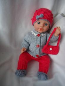 Hračky - bábika - oblečko 8 - 10964796_