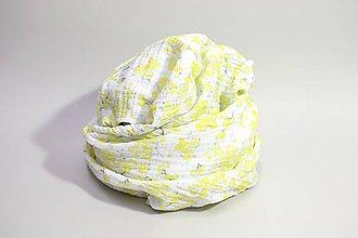 Textil - FLORA gázovinová prikrývka - Mimóza II. - 10964597_