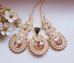 Sady šperkov - Soutache set Gloria - 10964464_