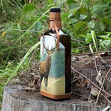 Iné - Fľaša pre lovca jeleňov Hnedá - 10965238_
