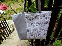 Iné tašky - Ruže a obláčiky - 10964763_