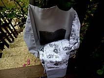 Iné tašky - Ruže a obláčiky - 10964764_