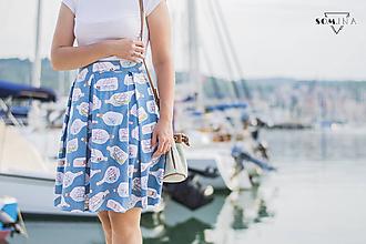 "Sukne - Sukňa ""sailboats"" - 10964743_"