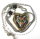 Náhrdelníky - Líška - náhrdelník menší - 10963958_