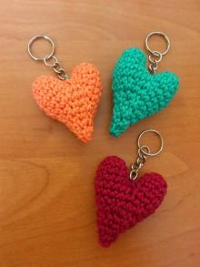 Kľúčenky - prívesok srdce - 10963671_