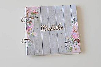 Papiernictvo - Scrapbook vintage fotokniha mini - 10963859_