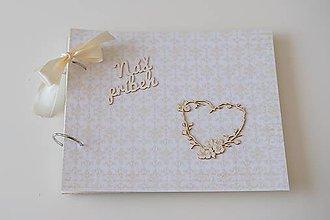 Papiernictvo - Svadobný album / Kniha hostí - 10964140_