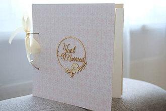 Papiernictvo - Svadobný album / Kniha hostí - 10964154_