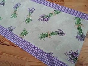 Úžitkový textil - napron lavender - 10965522_