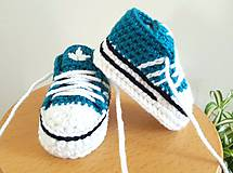 Topánočky - Kobaltové tenisky - 10966452_