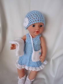 Hračky - bábika - oblečko 9 - 10967433_