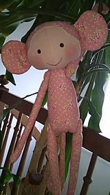 Hračky - Opička staroružová - 10967054_