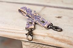 Kľúčenky - Korková kľúčenka - 10966444_