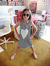 Detské oblečenie - Úpletové balónové šaty Baharia - 10966950_