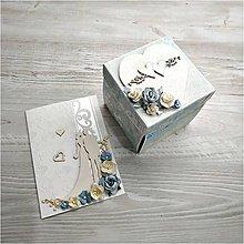 Papiernictvo - Krabička na peniaze - 10967802_