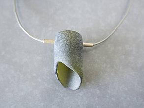 Náhrdelníky - Hrdlo náhrdelník - 10966762_