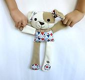 Hračky - Textilné zvieratko - Havino z Trianglového dvora - 10967571_
