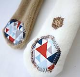 Hračky - Textilné zvieratko - Havino z Trianglového dvora - 10967578_