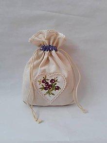 Úžitkový textil - Vrecúško na bylinky - 10967597_
