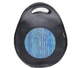 Batohy - Kožená kabelka POLY 3v1 - 10965987_
