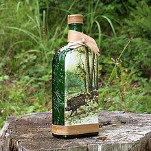 Iné - Poľovnícka fľaša Diviaky - 10965741_