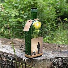 Iné - Lovecká fľaša Súmračným revírom - 10967131_