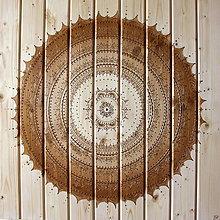 Obrazy - HARMÓNIA A ŠŤASTIE (drevo-natural) 70 x 70 - 10967522_