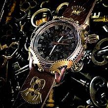 Náramky - Steampunk hodinky A 27 - 10966613_