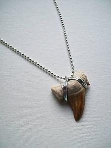 Šperky - Žraločí zub - 10967182_