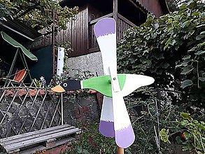 Dekorácie - veterný mlyn- vrtuľka  kačka - 10967851_