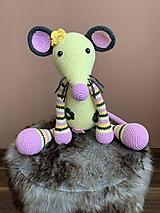 Hračky - myška Vanilka - 10967008_