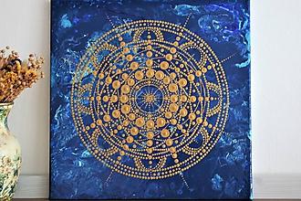 Obrazy - Mandala Morská - 10967295_