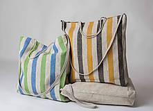 Nákupné tašky - Ľanová taška De Em - 10967110_