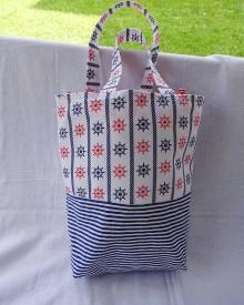 Nákupné tašky - námornícka taška - 10966758_