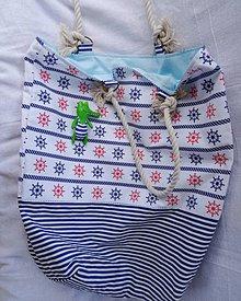 Veľké tašky - plážová taška - 10966806_