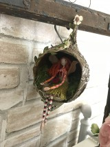 Socha - Víla Enelína Olívia (závesná dekorácia) - 10966723_