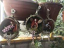 Socha - Víla Enelína Olívia (závesná dekorácia) - 10966724_
