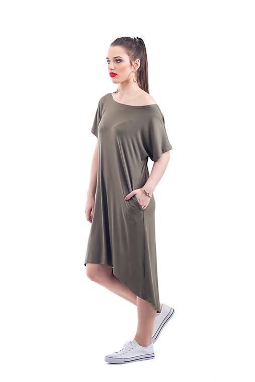 Šaty - maxi tričko - 10966209_