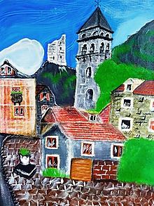 Obrazy - Primorske mestecko - 10966512_