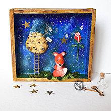 Socha - Rozprávková skrinka - Malý princ - 10966473_