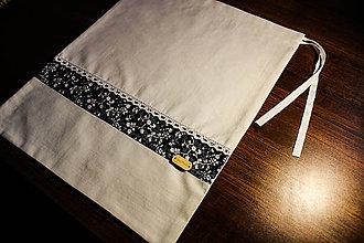 Úžitkový textil - Vrecko na potraviny - 10966358_