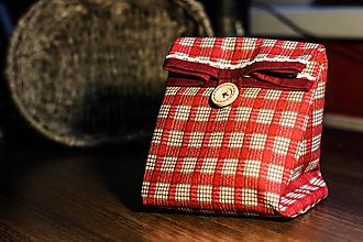 Úžitkový textil - Desiatové vrecko - malé - 10966934_