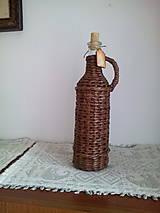 Košíky - Fľaša na víno - 10966567_