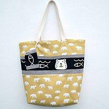 Veľké tašky - Velká taška Polar bear - 10969247_