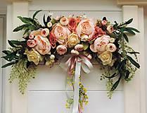 Dekorácie - Dekorácia na dvere - oblúk - 10969165_