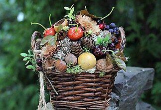 Dekorácie - Jesenný aranžmán - 10969859_