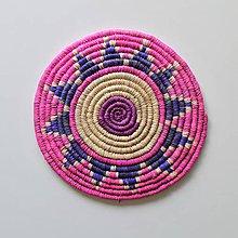 Pomôcky - Africký závesný kruh na stenu - 10969518_