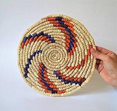 Pomôcky - Africký závesný kruh na stenu (African Trivet) - 10969539_